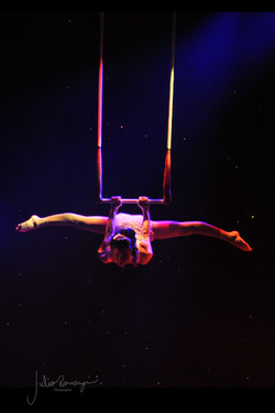 Strong Female Aerialist