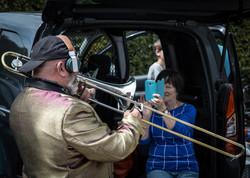D Djay Trombone (Bezoekerscentrum Jules Destrooper 13.00-14.00 / Voormalig militair kerkhof Hoflands