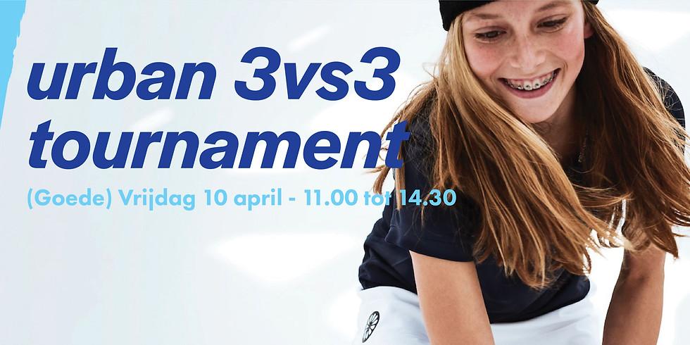 URBAN 3x3 TOURNAMENT - 10 april