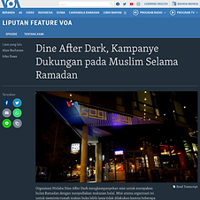 TV: Voice of America, Indonesian