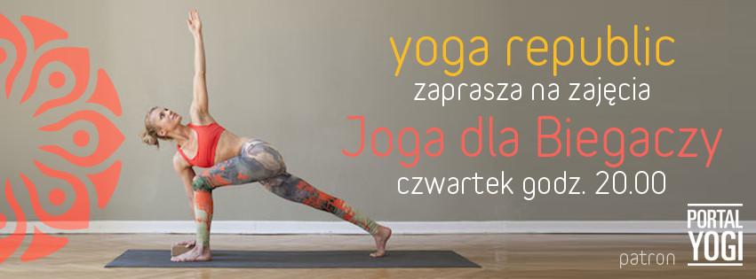 Joga dla Biegaczy | Yoga Republic | Justyna Jaworska