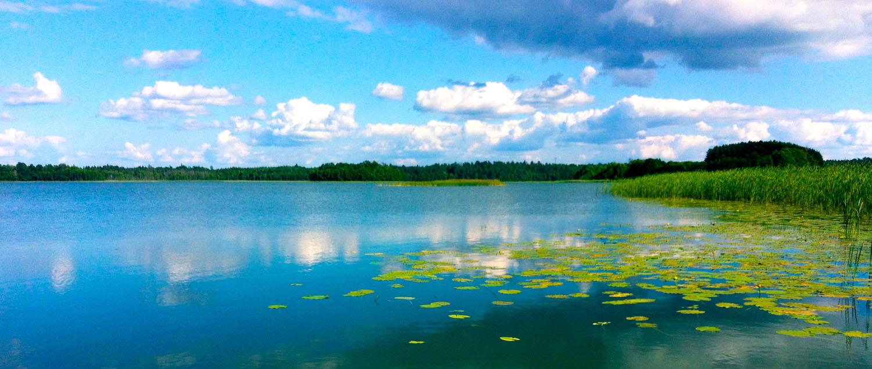 Lipowy Dom jezioro