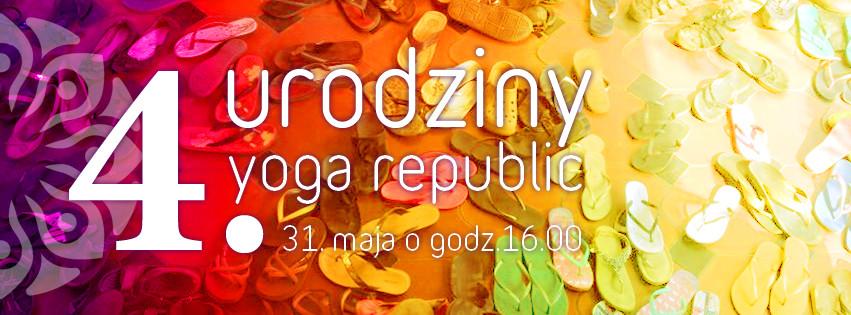 4. Urodziny Yoga Republic