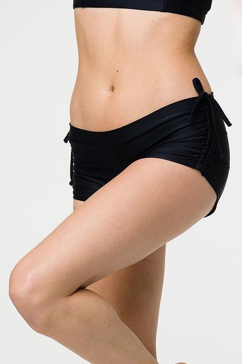Onzie Side Tie Short Black One Size