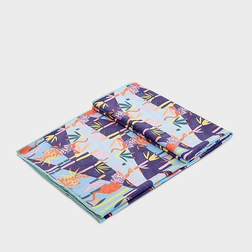 Manduka eQua Mat Towel Bengal Light Blue