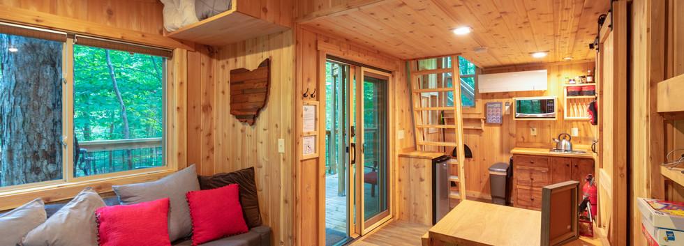 White Oak Treehouse | Hocking Hills Treehouse Cabins | Main