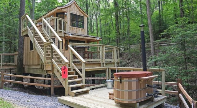 The Beech Treehouse Private Wood-Fired Hot Tub  Hocking Hills Treehouse Cabins.jpg