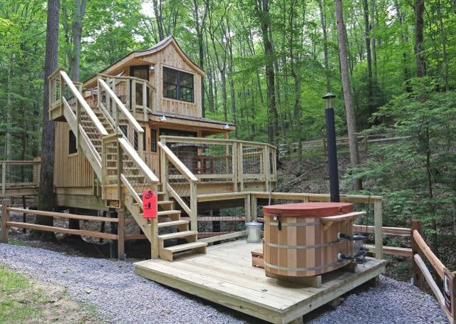 The Beech Treehouse Private Wood-Fired Hot Tub |Hocking Hills Treehouse Cabins.jpg
