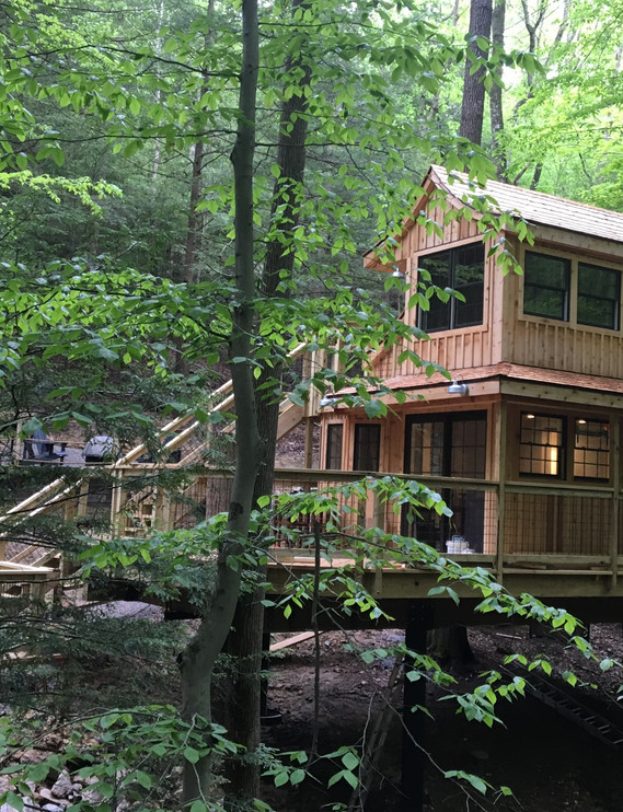 The Beech | Hocking Hills Treehouse Cabins