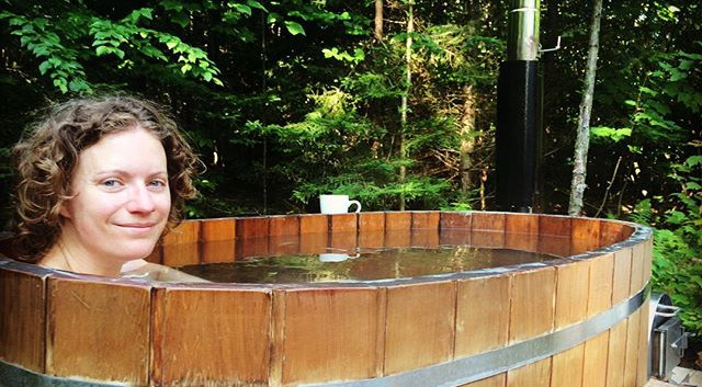 Amazing views of the surrounding forest | Hocking Hills Treehouse Cabins