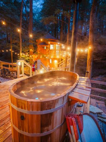 Custom-Built Treehouse Accommodations