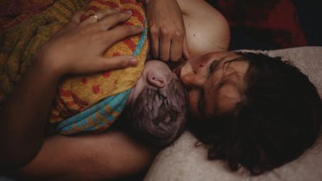 Geburtsbericht: Ein Brief von Mama und Papa - Geburtsfotografie im Raum Lahr