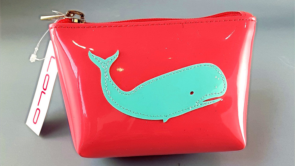 LOLO Small Avery: Pink with LtBlueWhale