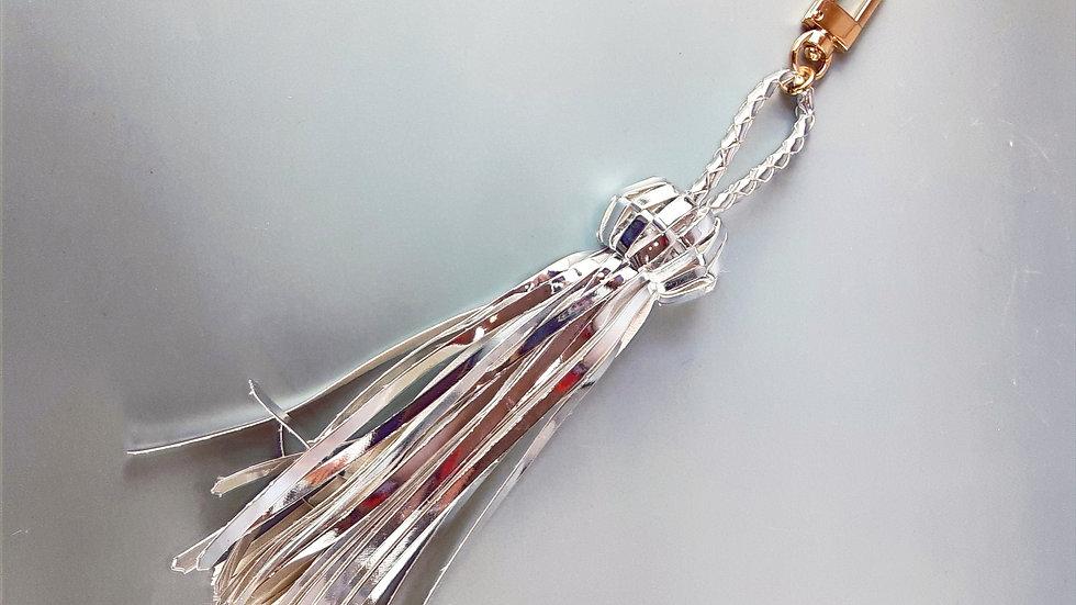 LOLO  Tassel Charm: Silver