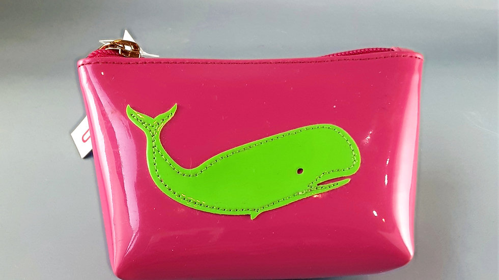 LOLO Small Avery: Pink with GreenWhale