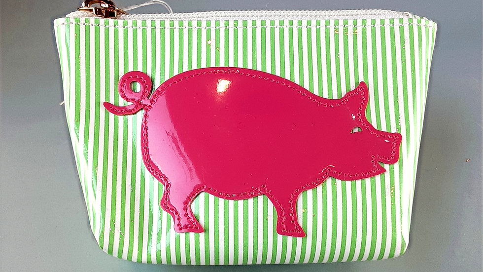LOLO Small Avery: Stripe with Pig