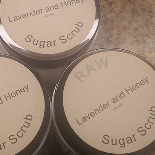 Lavender Honey Sugar Scrub