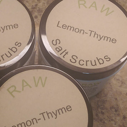 Lemon-Thyme Salt Scrub