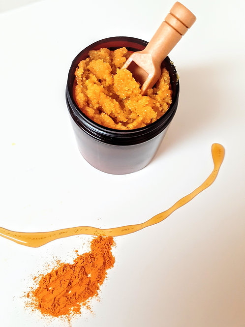 Turmeric Honey Sugar Scrub