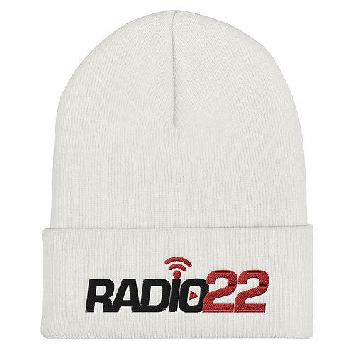 Radio 22 Cuffed Beanie