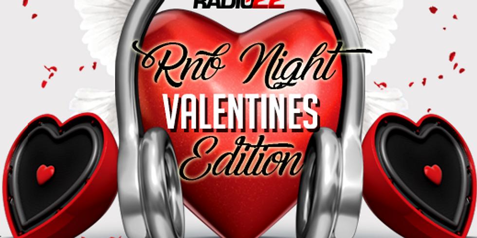 Radio 22 presents: RnB Night: Valentine's Day Edition
