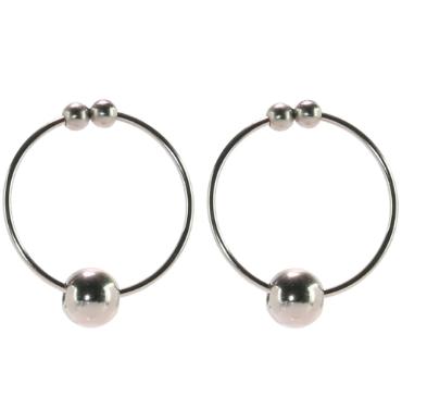 nipple play Non-Piercing Nipple Rings in Silver