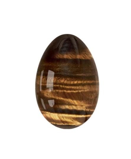 Tiger's Eye Yoni Egg