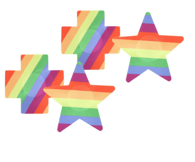 Rainbow Pasties 2 Pack