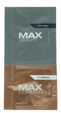 MAX Vitality Treatment Cream & Command Gel Duo