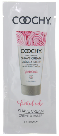 Oh So Smooth Shave Cream .5oz/15ml in Frosted Cake