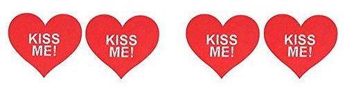 """kiss me"" pasties"