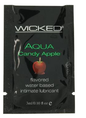 Aqua Flavored Lube Candy Apple