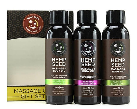 Hempseed Massage Oil Gift set