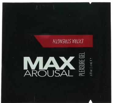 MAX Arousal Extra Strength Pleasure Gel