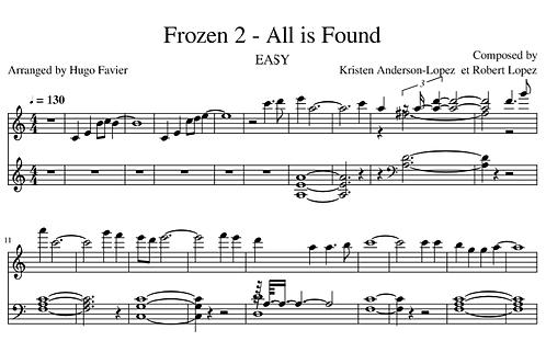 Frozen 2 - All is Found MEDIUM (pdf)