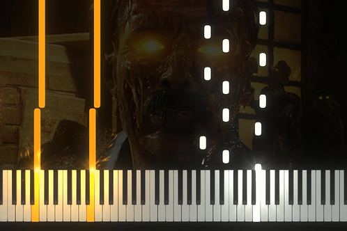 Call of Duty - Zombies Theme (Damned) EASY (midi)