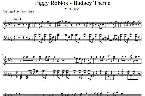 Budgey Theme Song - Piggy Roblox (pdf)
