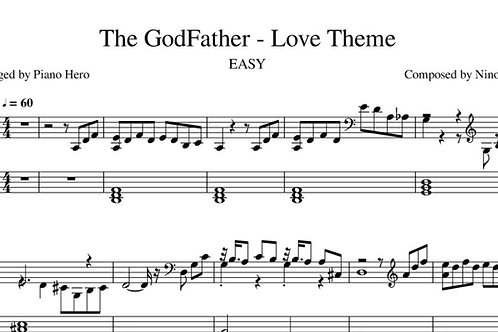 The GodFather - Love Theme EASY (pdf)
