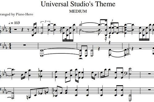 Universal Studio's Theme (pdf)