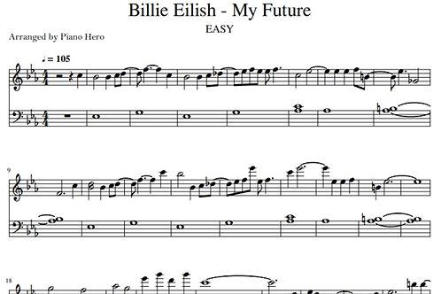 Billie Eilish - My Future (pdf)