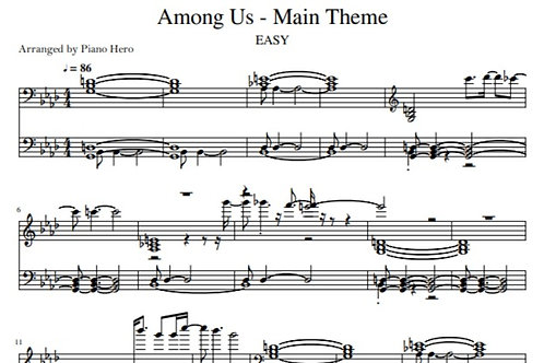 Among Us - Main Theme (pdf)
