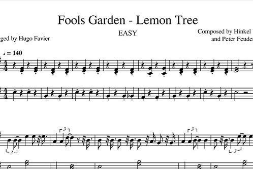 Fool's Garden - Lemon Tree EASY (pdf)