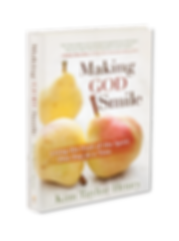 Book cover image for Making God Smile: Living the Fruit of the Spirit One Day at a Time by author Kim Henry.