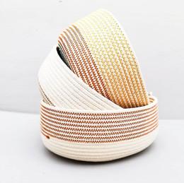 Bread basket in nice earthy colours, mak