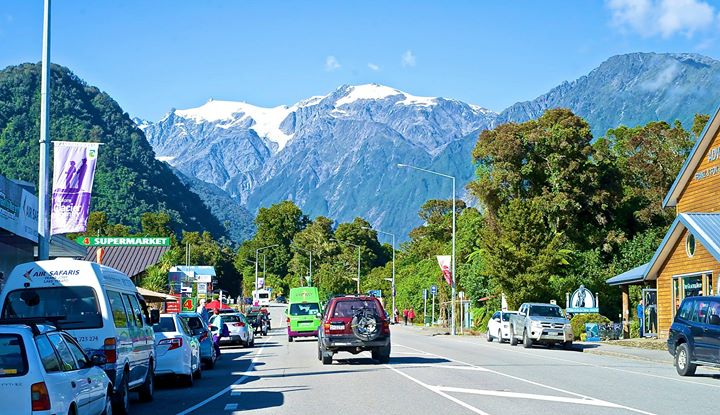 Franz Josef Village, West Coast