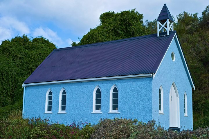 Kotahitanga Church at Moeraki Kaik