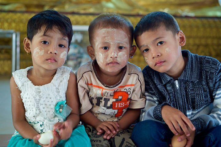 Children, Yangon, Myanmar