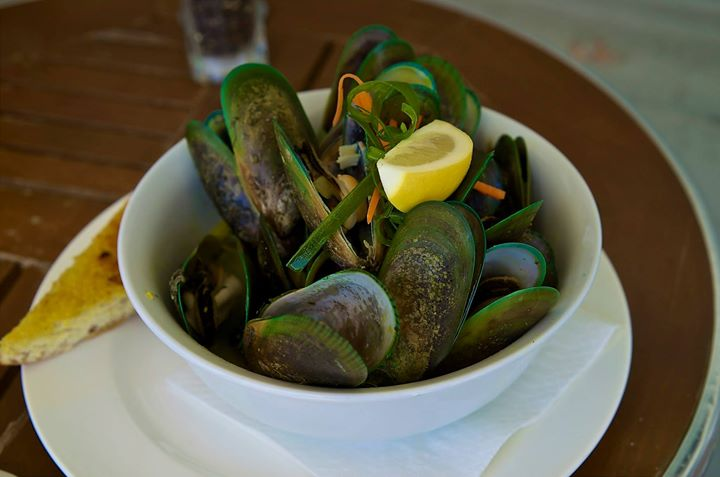 Green Mussels, Picton Harbour, South Island