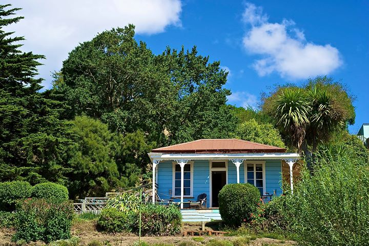 Stan Lusby's house in Moeraki