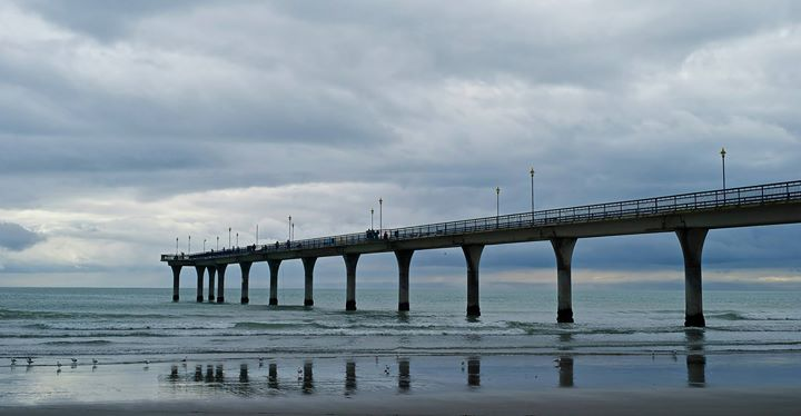 The Pier, New Brighton, Dunedin